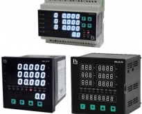 KM-23-Series : THREE PHASE VOLT-AMP-kW-kWh-Hz-PF METER WITH PROTECTION RELA